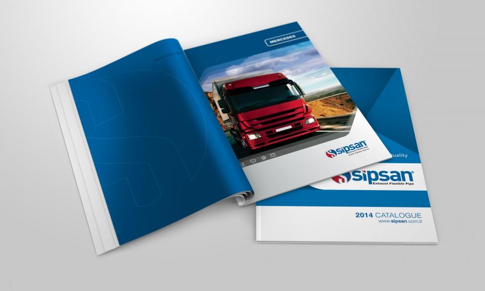 Sipsan Spiral Katalog Tasarımı ve Basımı